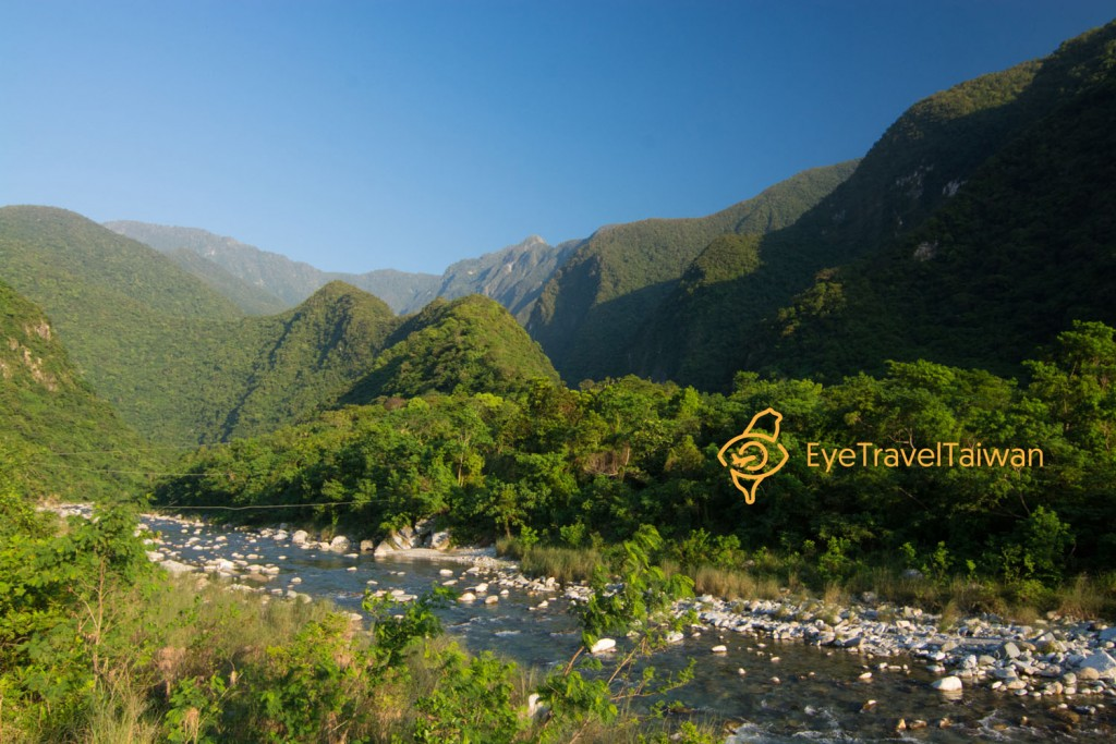 黃金峽谷 river tracing hualien
